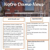 Notre Dame News Issue 14 Christmas 2019 -OUT NOW!